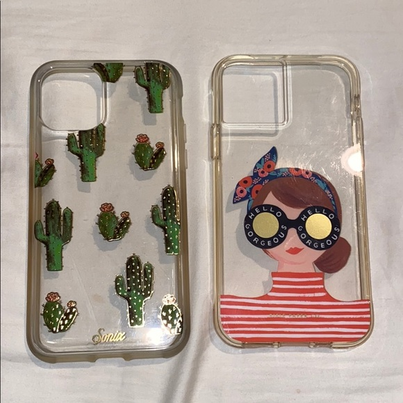 iPhone 11 Pro cases rifle paper co and sonic